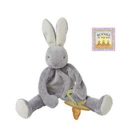 Bunnies By The Bay Silly Buddy: Grady Bunny Grey