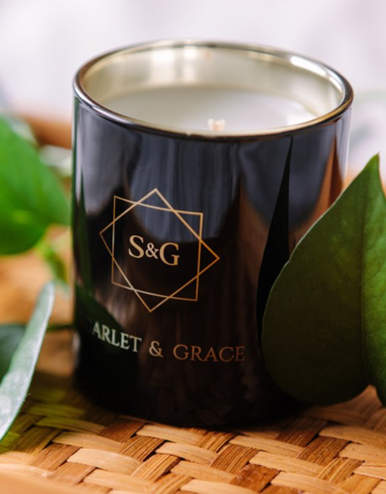 Scarlet & Grace 340g Soy Wax Candle - French Lavender
