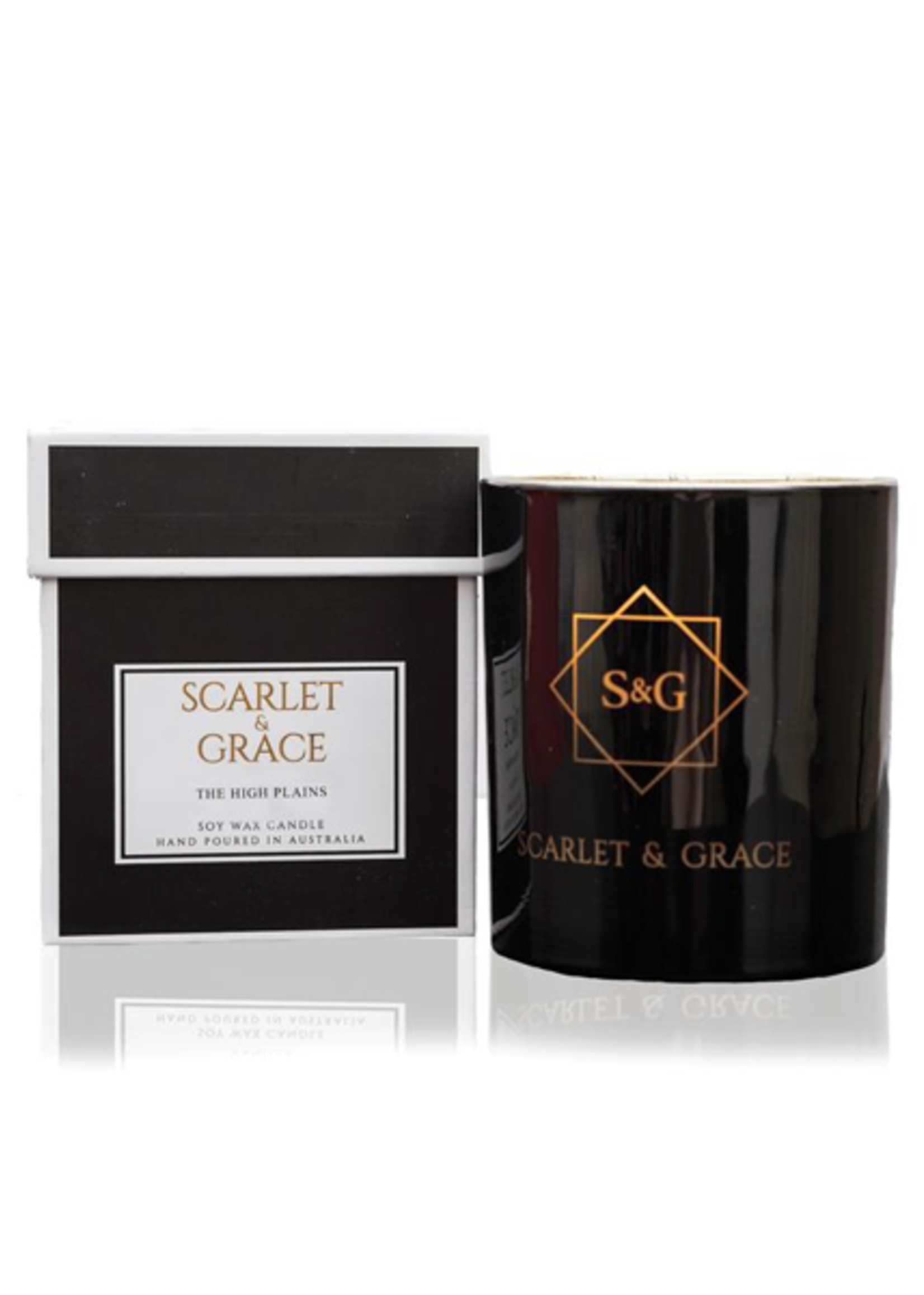 Scarlet & Grace 340g Soy Wax Candle - The High Plains