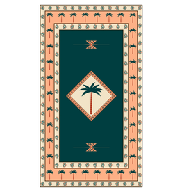 Large Beach or Travel Towel 160x90cm - Desert Palms
