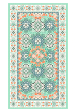 Large Beach or Travel Towel 160x90cm - Moroccan Mint