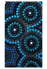 Large Beach or Travel Towel 160x90cm - Aussie Dreamtime