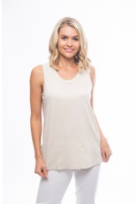 Orientique Essentials Knit Cami in Sand 11340