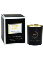 Scarlet & Grace 340g Soy Wax Candle - Exotic Woods