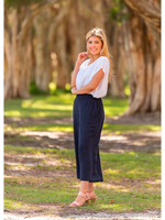 Boho Australia Jensen Pants in Navy