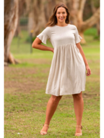Boho Australia Dora Dress in Oatmeal