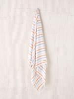 Linen House Beach Towel Hammam Whitehaven Marigold