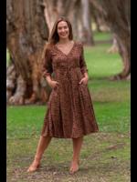 Boho Australia Tanner Midi Dress