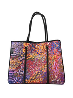 Utopia Neoprene Tote Bag - Janelle Stockman 209