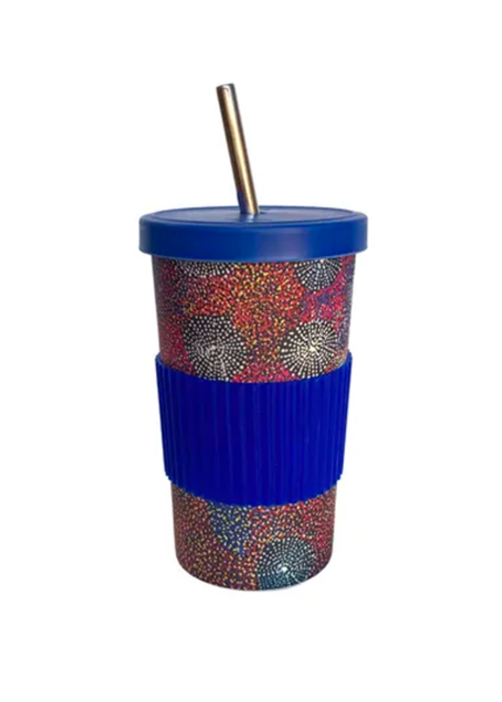 Utopia Large Tumbler Straw/Lid - Katie Morgan 216