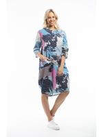 Orientique Lourdes Dress Blue