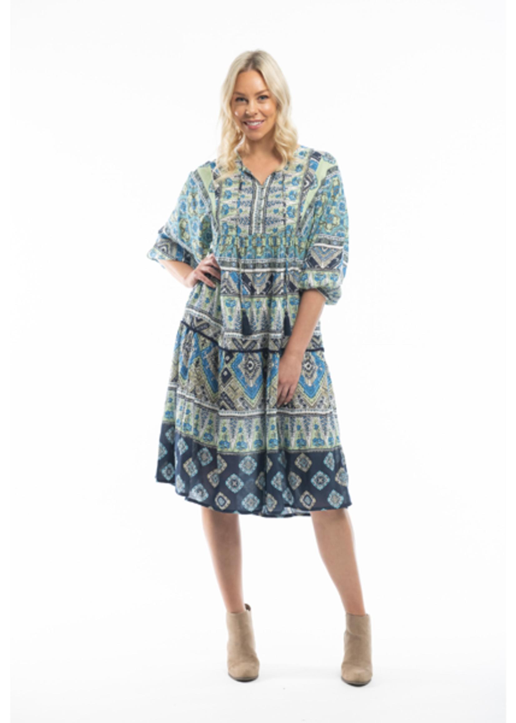 Orientique Sliema Dress Print