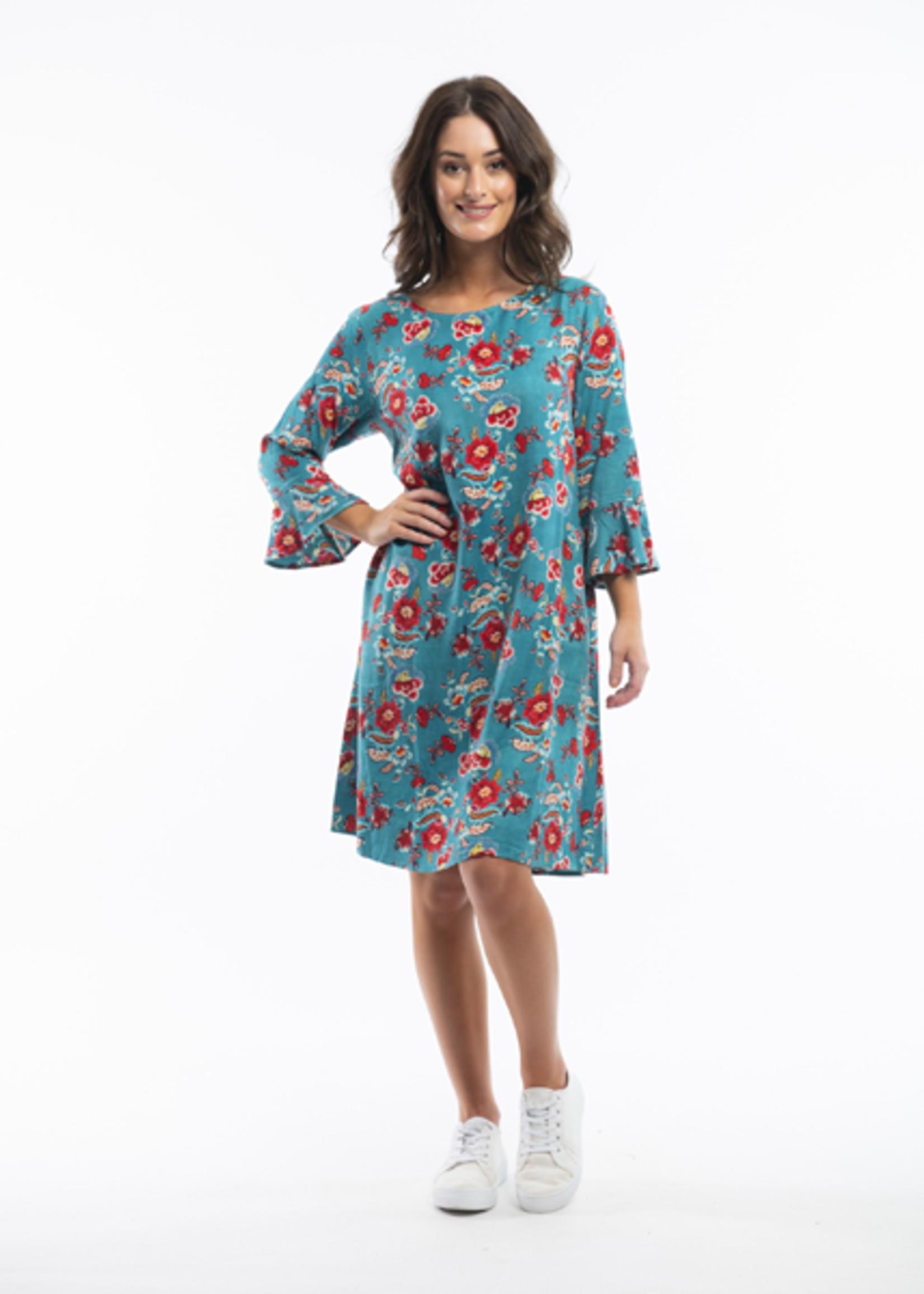 Orientique Birgu Dress Print