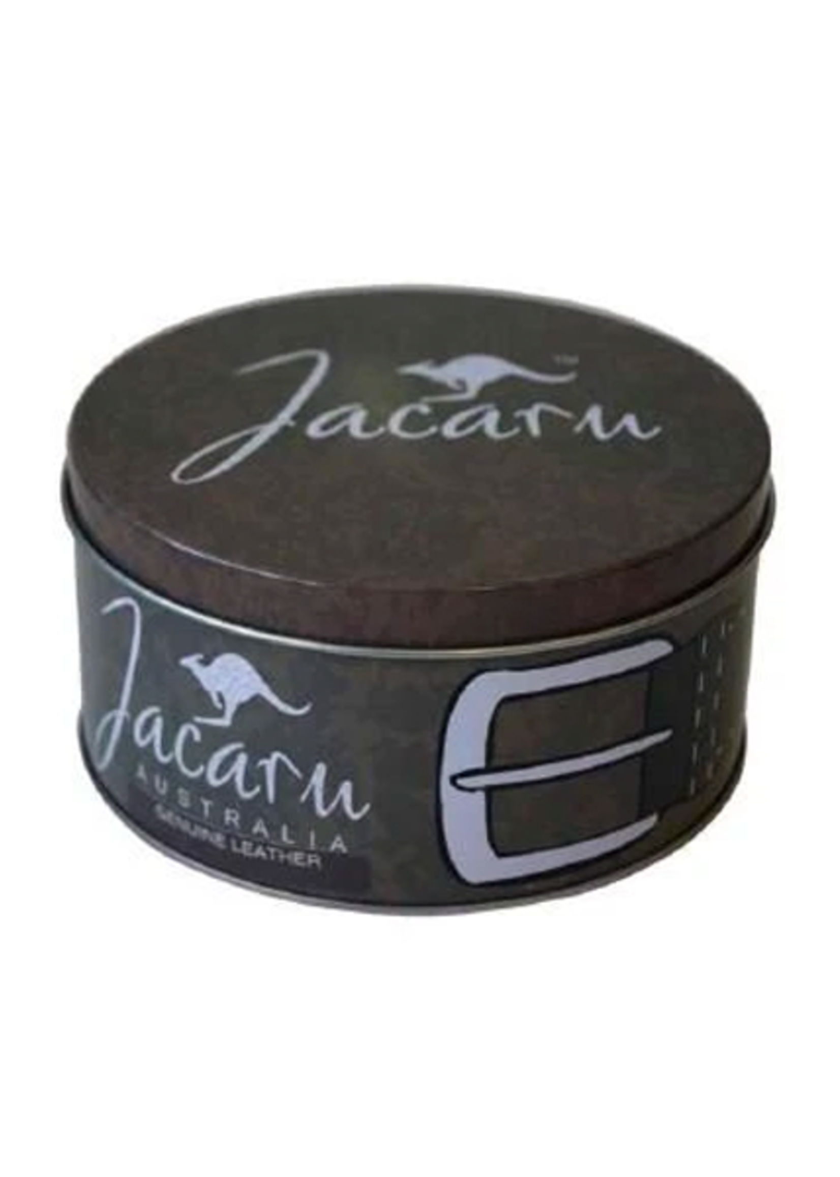 Jacaru Black Leather Belt 6011