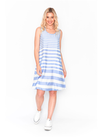 DW74E Dress Flaired Shift