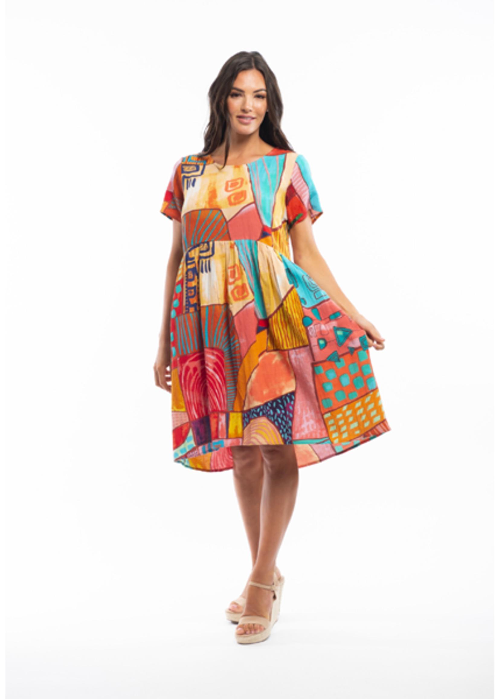 Orientique Corsica Dress in Print