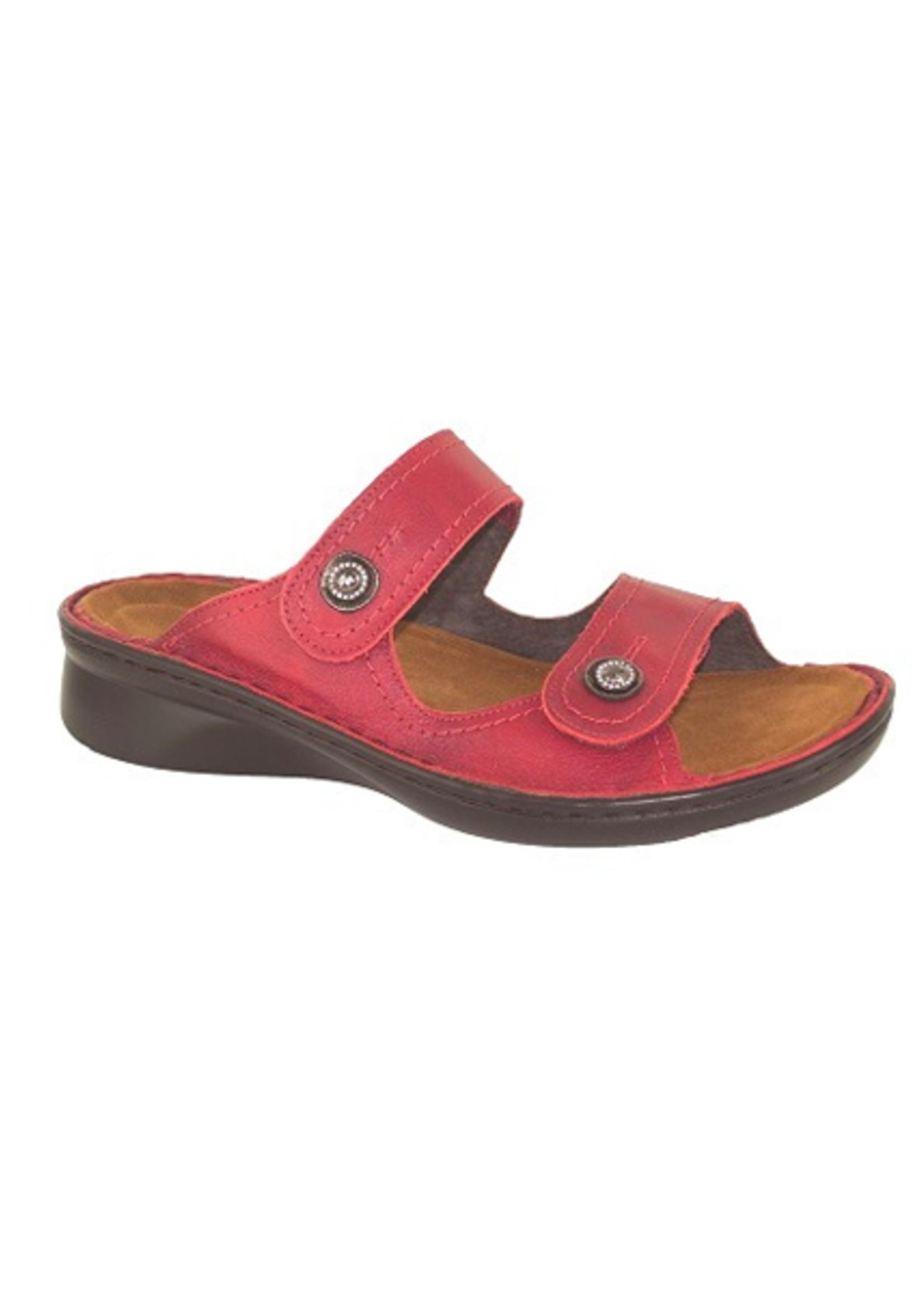 Naot Footwear Sitar in Berry Red