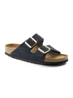 Birkenstock Arizona - Suede Leather in Navy (Soft Footbed - Suede Lined)