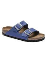 Birkenstock Arizona Nubuck Leather in Azure Blue (Soft Footbed - Suede Lined)