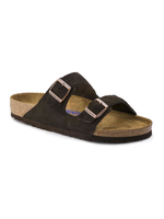 Birkenstock Arizona Suede Leather in Mocca (Soft Footbed - Suede Lined)