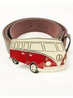 Combi Van Red Belt Buckle