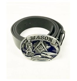 Masonic Belt Buckle