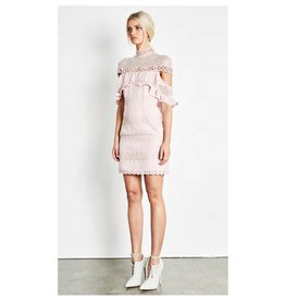 Elliatt Pinnacle Dress - Chalk Pink