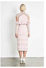 Elliatt Pinnacle Dress - Chalk Pink