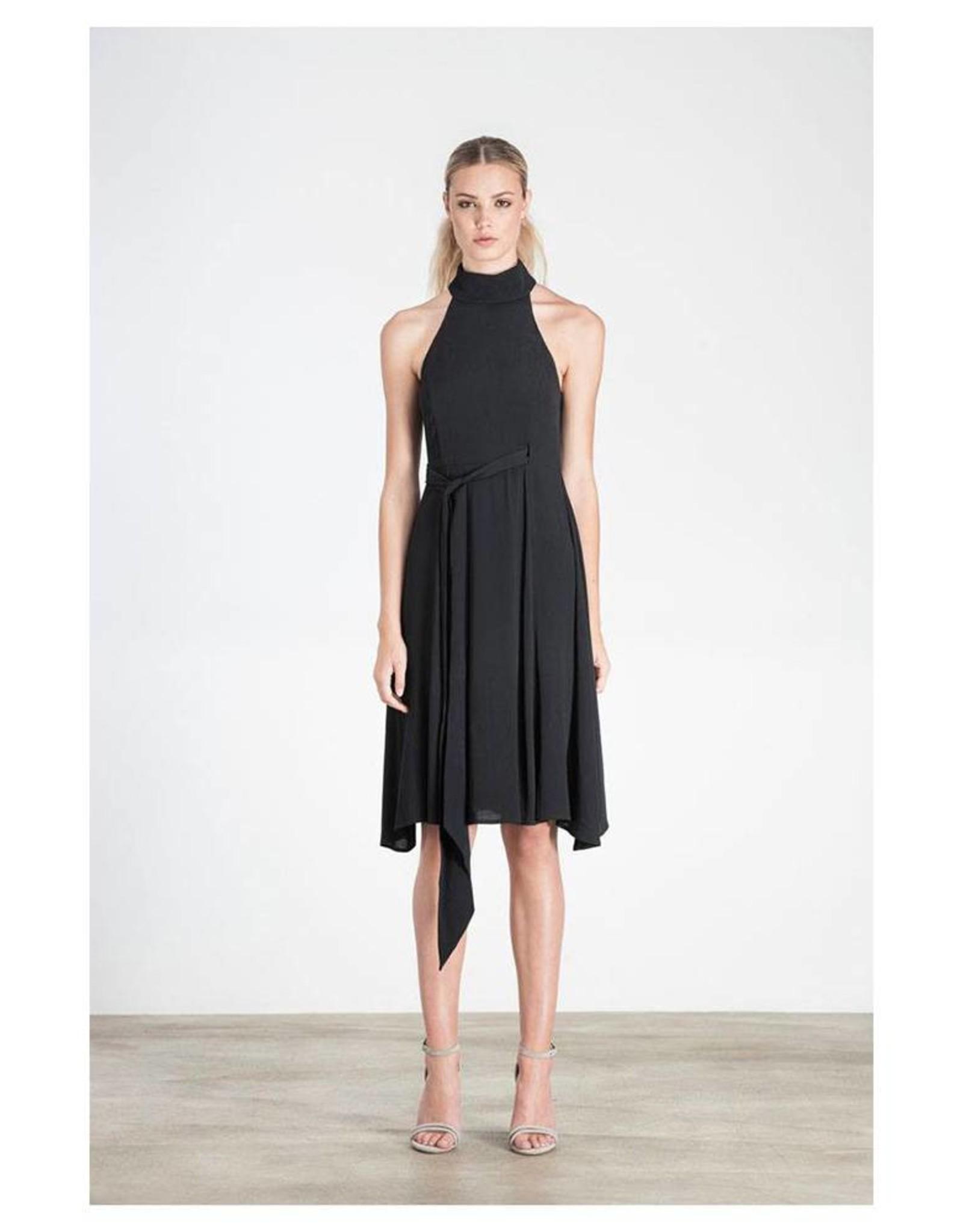 Elliatt Cubism Dress - Black