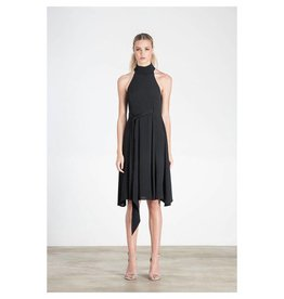 Elliatt Cubism Dress - Black