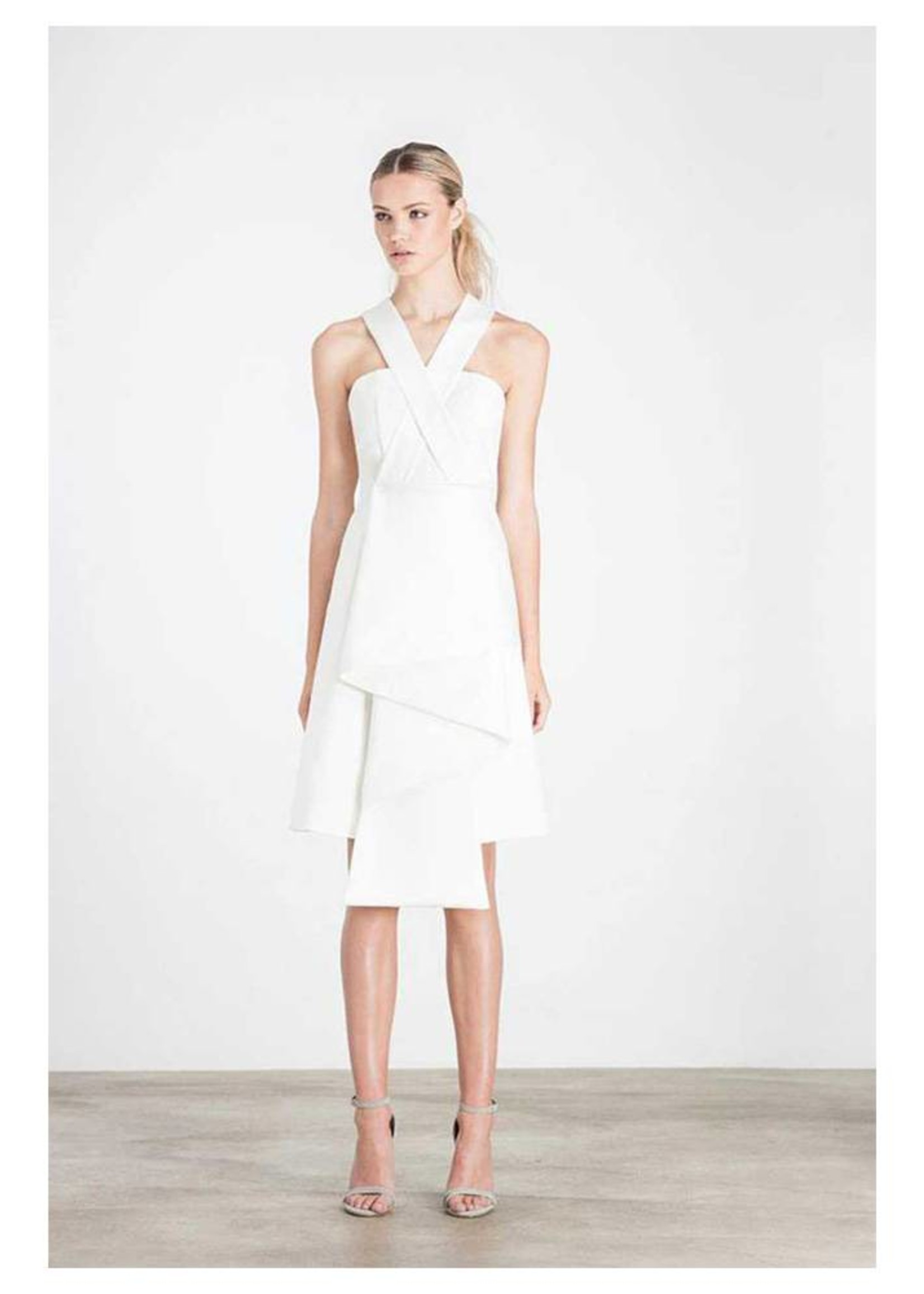Elliatt Curator Dress - White