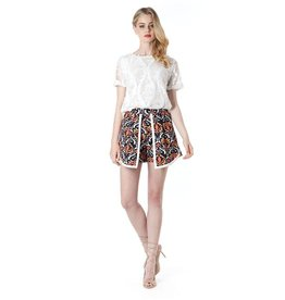 Elliatt Wonderland Short - Multi Jacquard