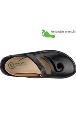 Naot Footwear Matai in Black Madras