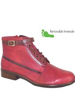 Naot Footwear Kona in Berry Red Combo
