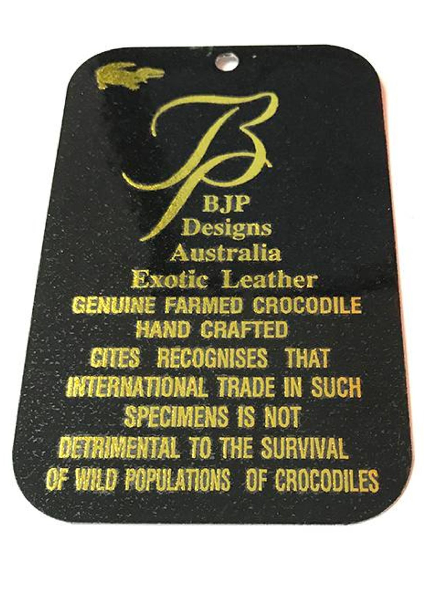 Crocodile & Stingray Products Ladies Crocodile Wallet - Red