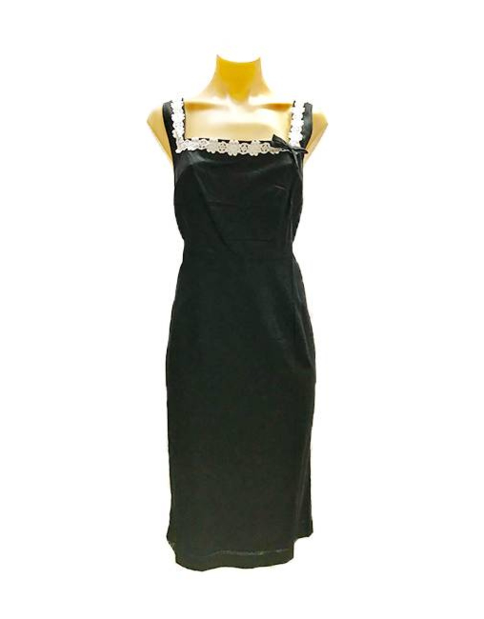 Chantilly Pencil Dress in Black