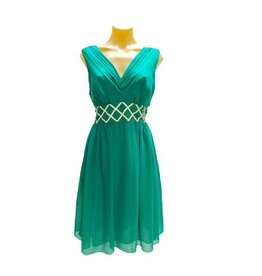 Charlotte Dress in Jade