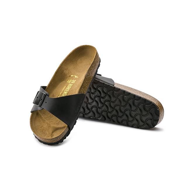 4fa660178721 Buy Womens Birkenstock Madrid Black Sandals