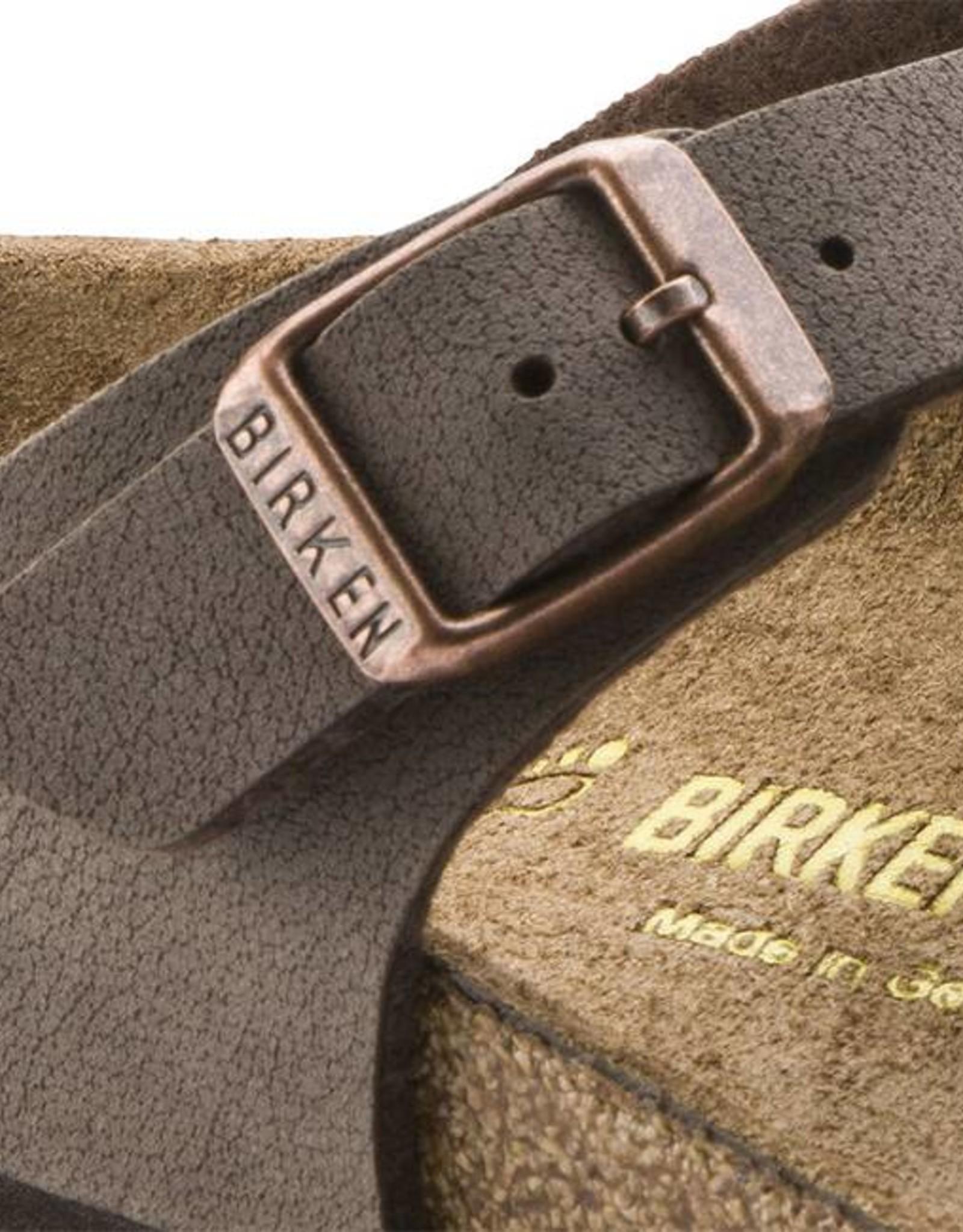Birkenstock Gizeh Kids - Birko-Flor in Mocca (Classic Footbed - Suede Lined)