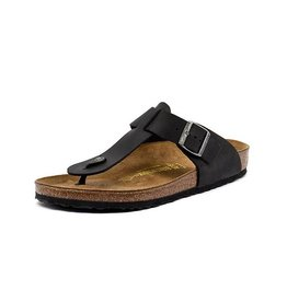 Birkenstock Medina - Natural Leather in Black