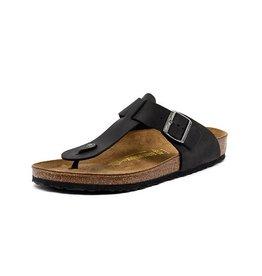Birkenstock Medina - Natural Leather in Black