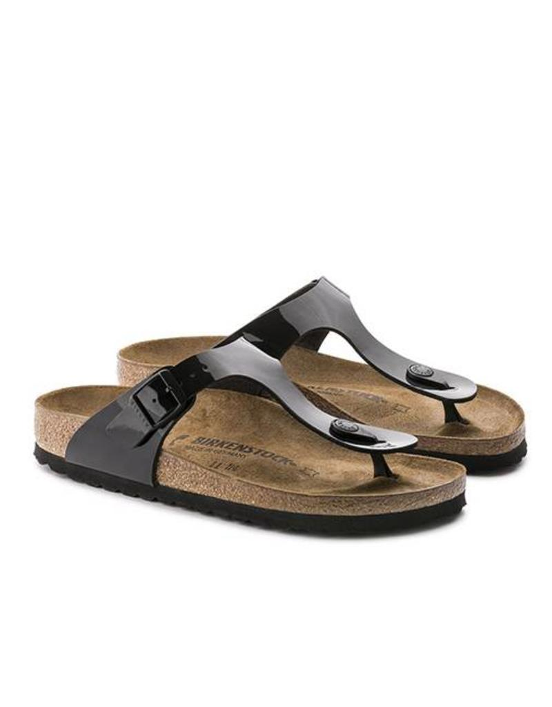 ed043b03df7 ... Gizeh - Birko-Flor Patent in Black (Classic Footbed - Suede Lined) ...