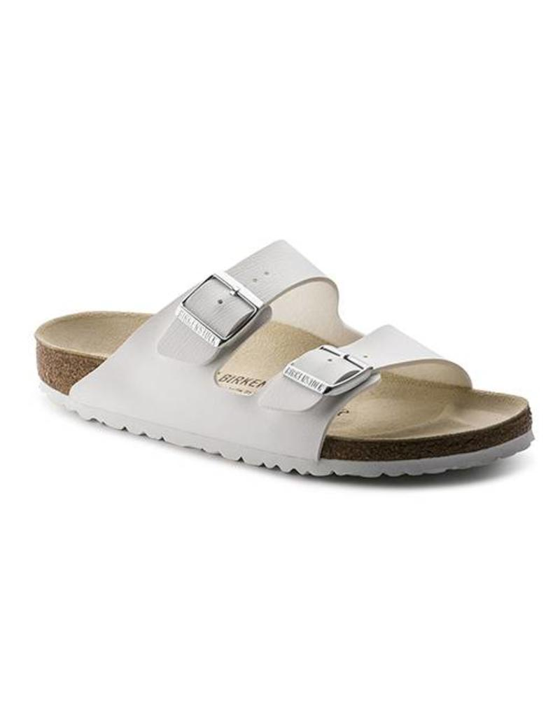 df2d8651997 Birkenstock Arizona White Birko-Flor Sandal Narrow Fit - Fe s ...