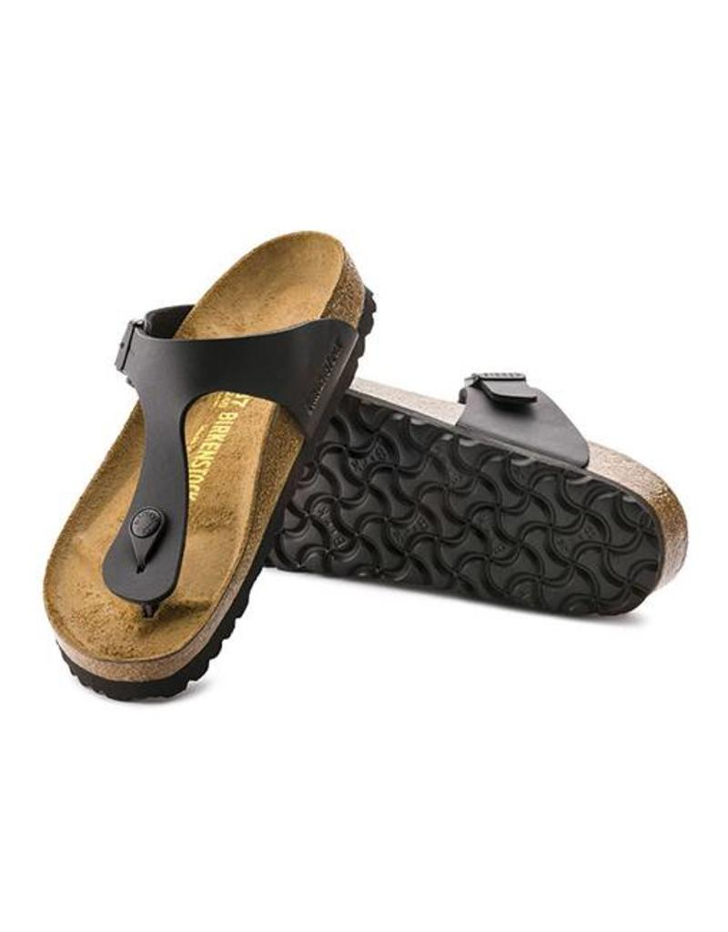 d1e3d8330b3 ... Gizeh - Birko-Flor in Black (Classic Footbed - Suede Lined) ...