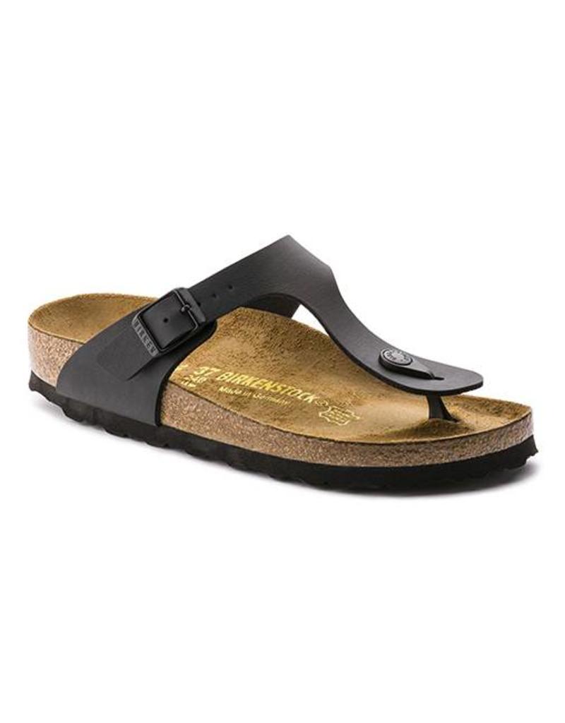 18a053a7d62b Shop Birkenstock Gizeh Birko-Flor Black Sandals Online - Fe s ...