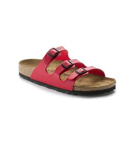 Birkenstock Florida - Birko-Flor in Cherry