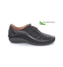 Naot Footwear Kumara in Black Metallic Combo