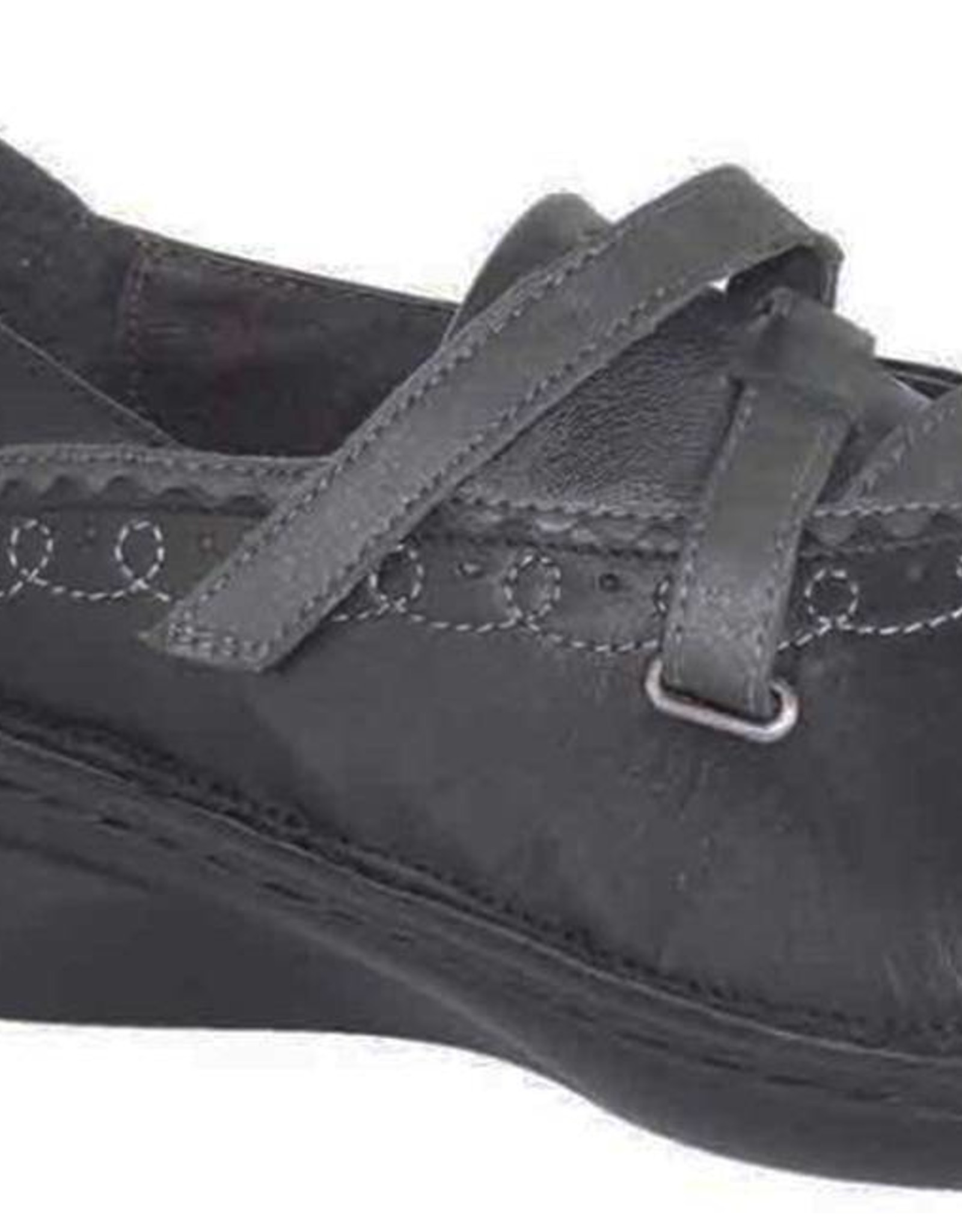 Naot Footwear Alto in Metallic Black Grey