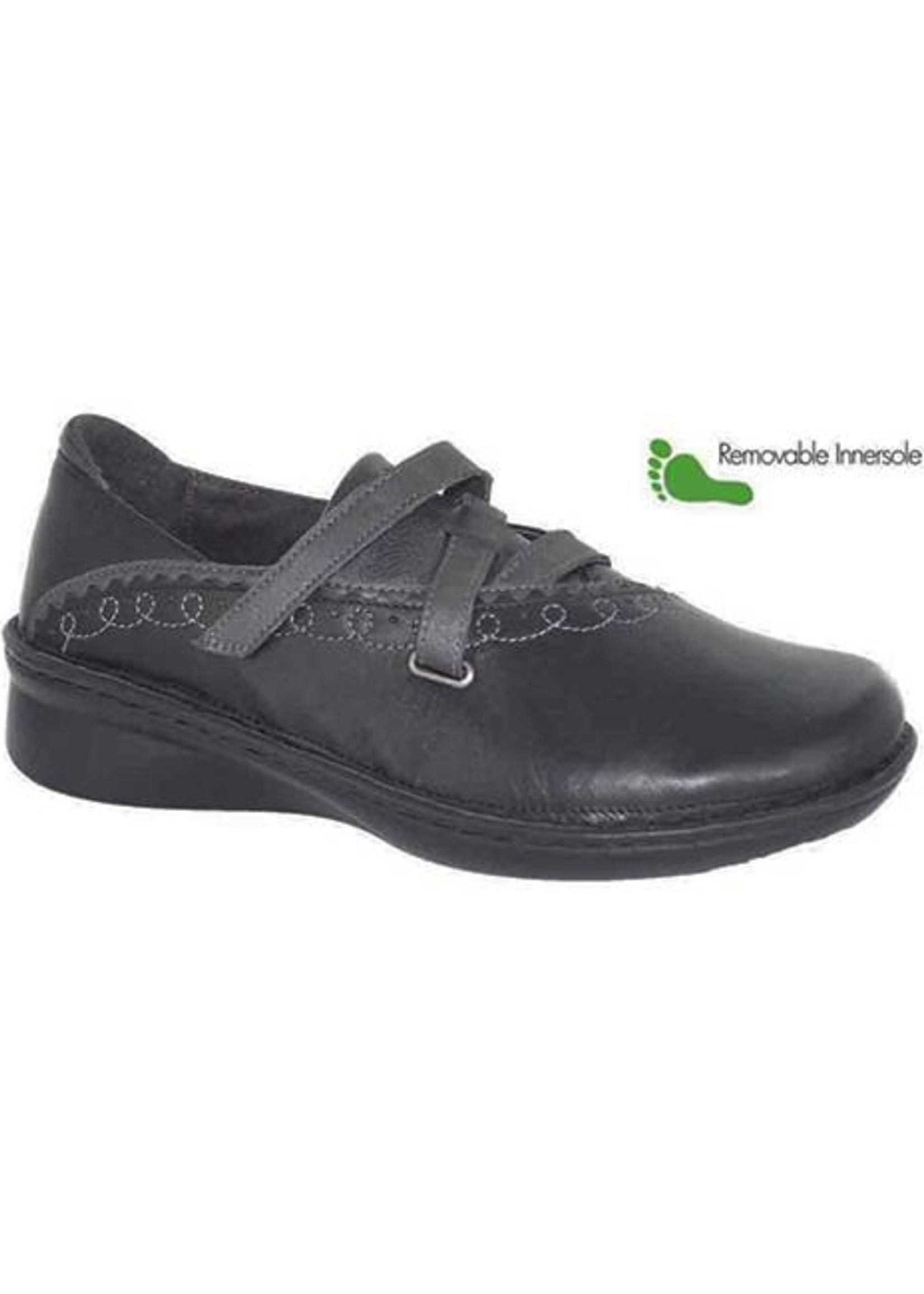 Naot Footwear Alto in Metallic Black Grey