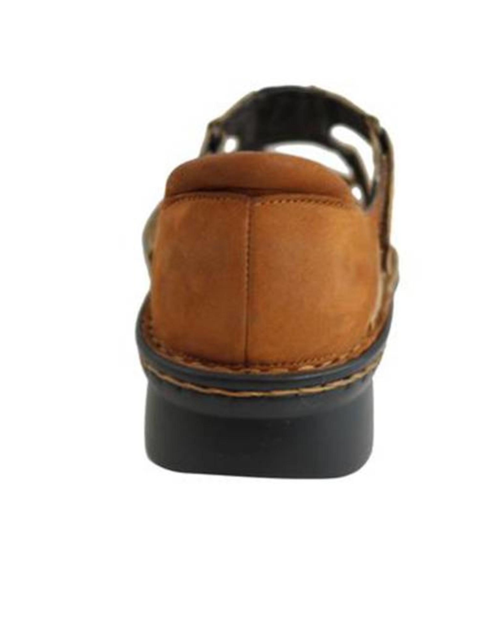 Naot Footwear Figaro in Latte Brown Combo